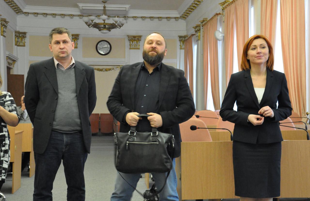 Олександр Явтушенко, Сергій Чередніченко та Вікторія Лоза