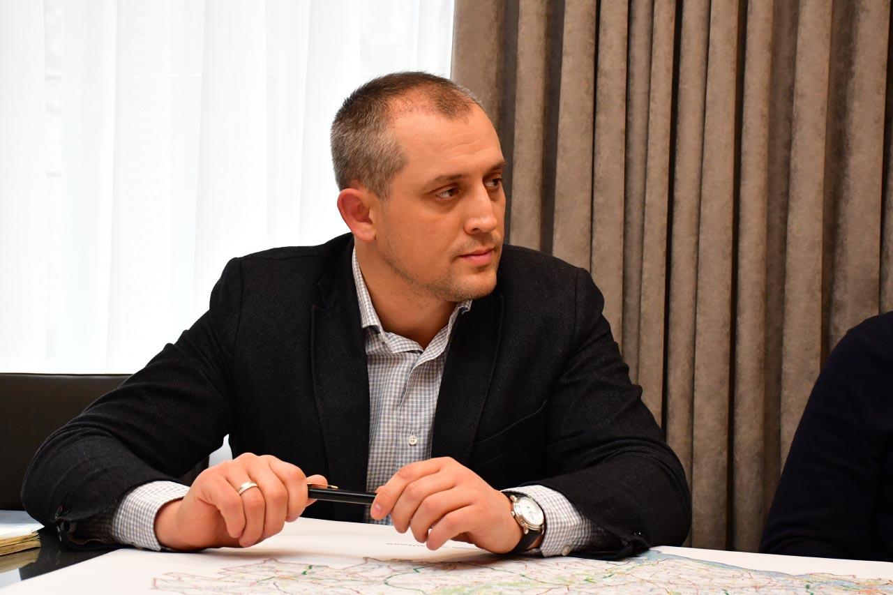 Директор ДП «Агентство місцевих доріг Полтавської області» Олексій Басан