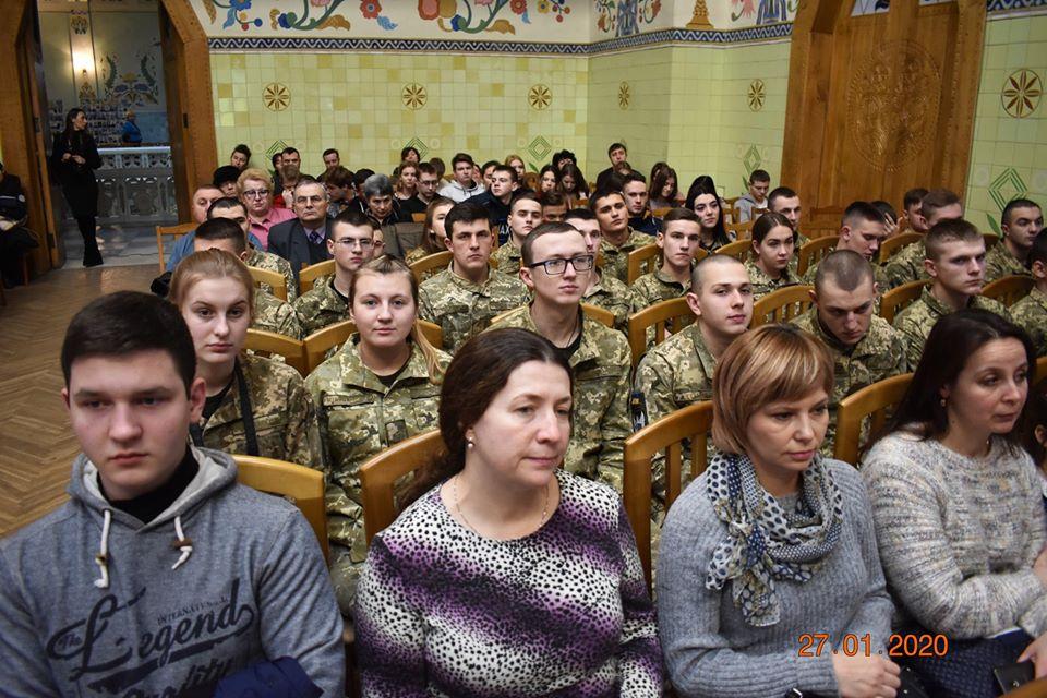 Курсанти Полтавського військового коледжу