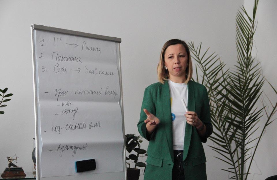 Голова ГО «Нова Полтава» Юлія Городчаніна розповіла деталі процесу створення ради