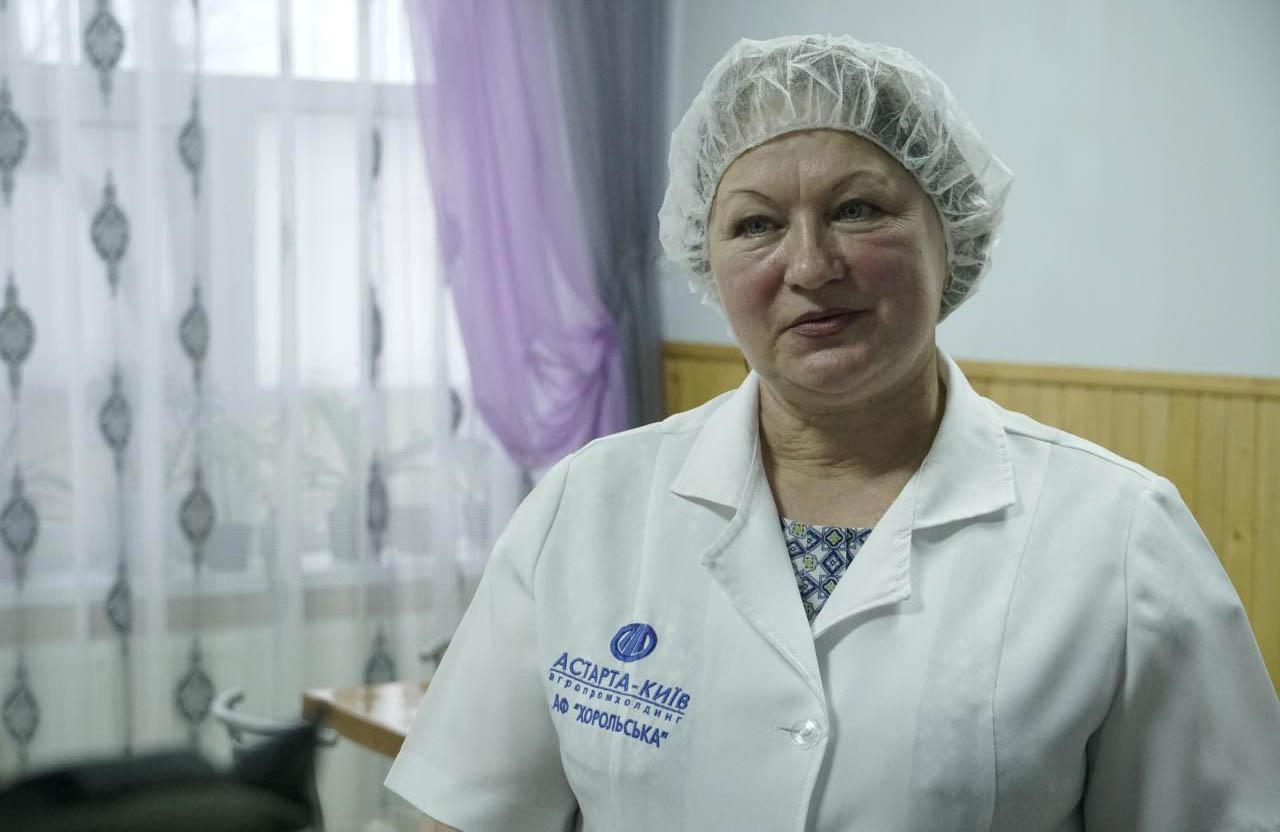 Cтарша кухарка Світлана Михайленко