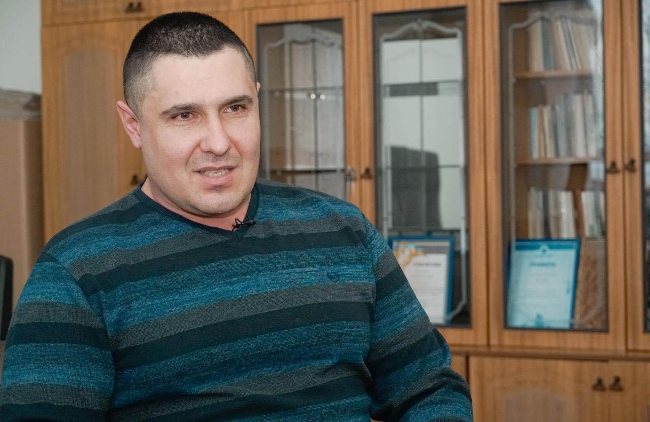 Директор ВП «Зоря» Віктор Колісніченко