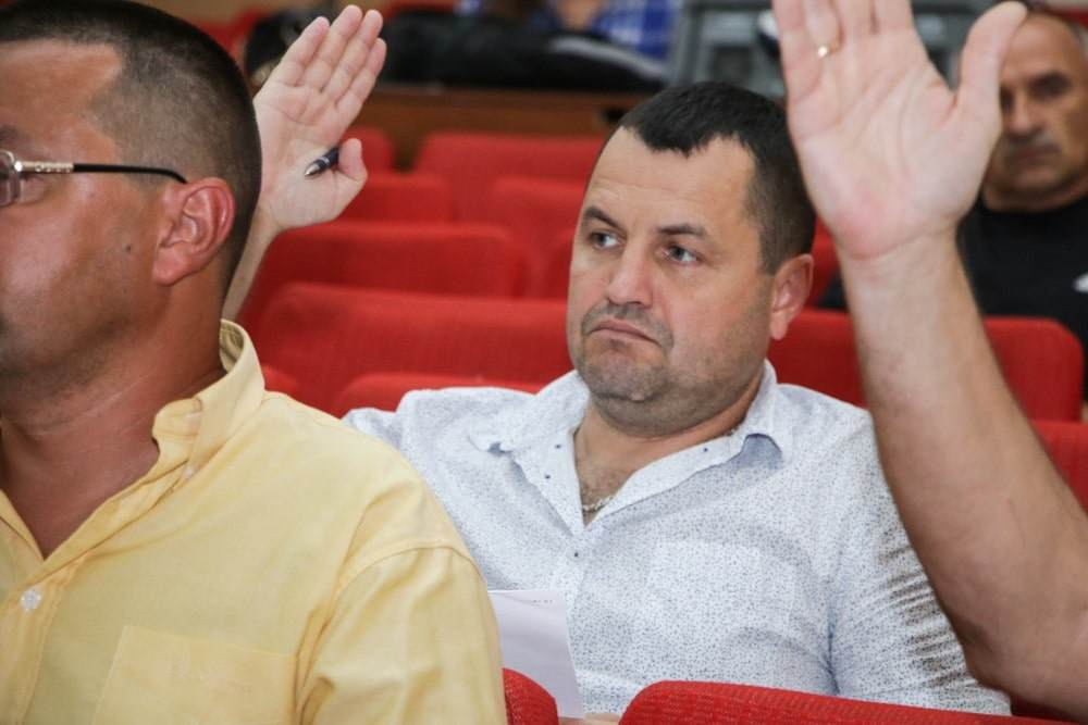 Депутат Щербанівської сільської ради Валентин Грабко