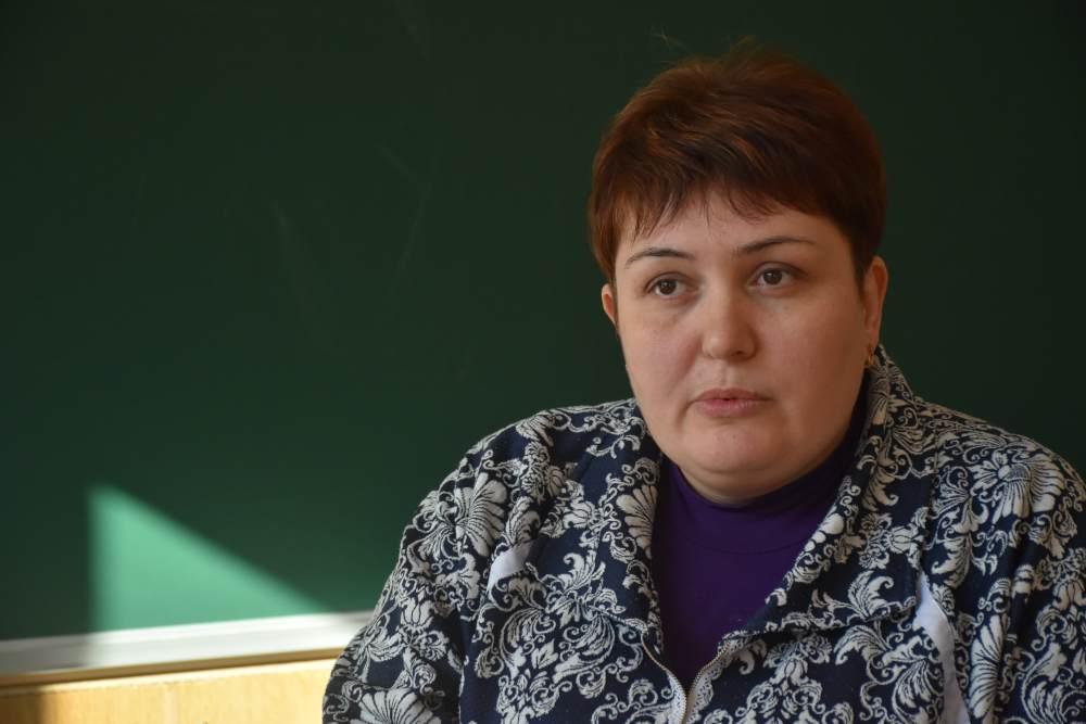 Депутатка Щербанівської сільської ради Тетяна Веркалець