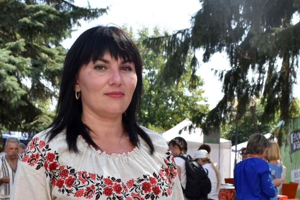 Голова ініціативної групи Анна Овчаренко
