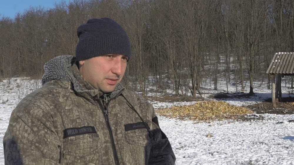 Єгер мисливського господарства ПАФ «Подоляка» Олександр Кощенко