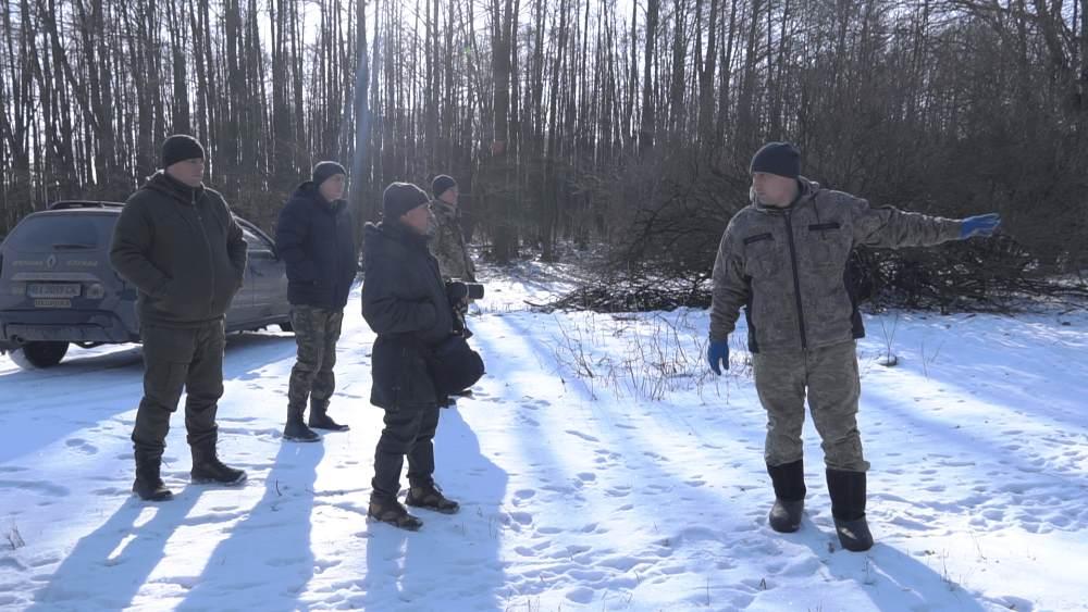 ПАФ «Подоляка» проводить зимовий облік диких звірів