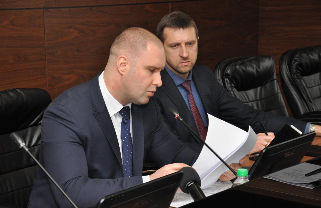 Олег Синєгубов та Євген Греков