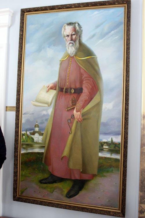 Таким постав Самійло Величко в уяві полтавського художника Миколи Підгорного