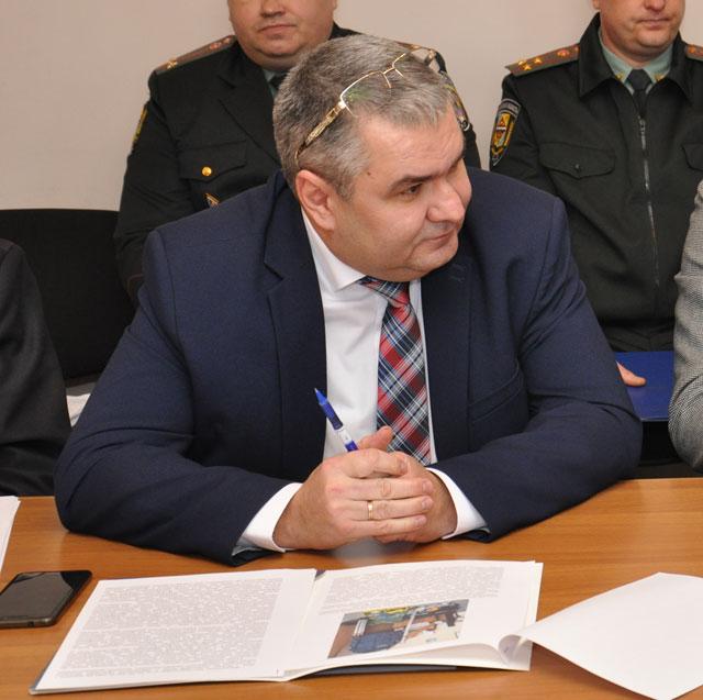 Представник Полтавського НДЕКЦ МВС України