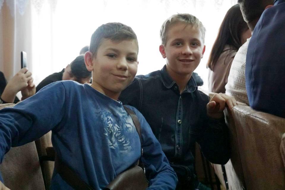 Щасливі вихованці Кобеляцького навчального центру