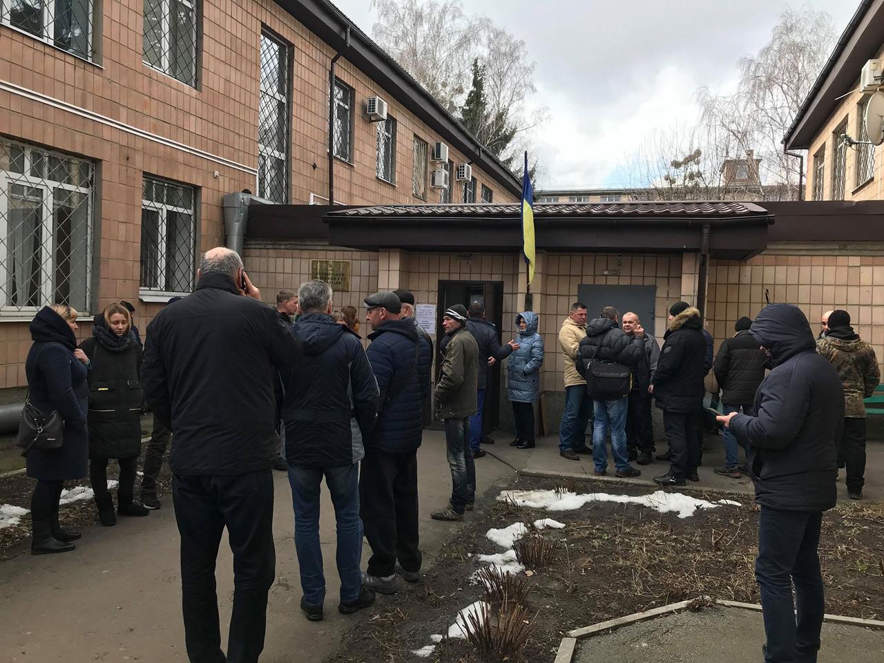 Підтримати Володимира Сіренка прийшли мешканці Нових Санжар
