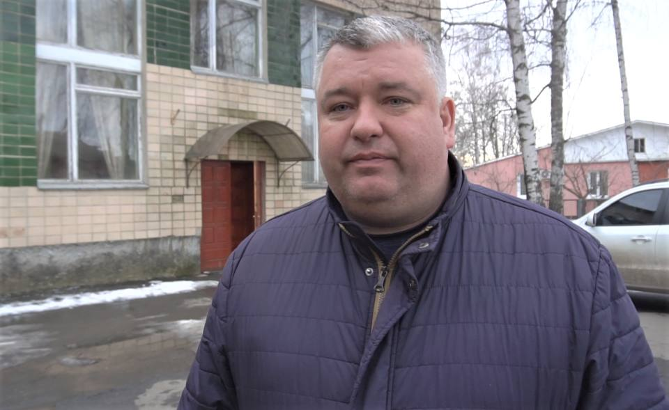 Начальник управління ЖКГ В'ячеслав Макаренко
