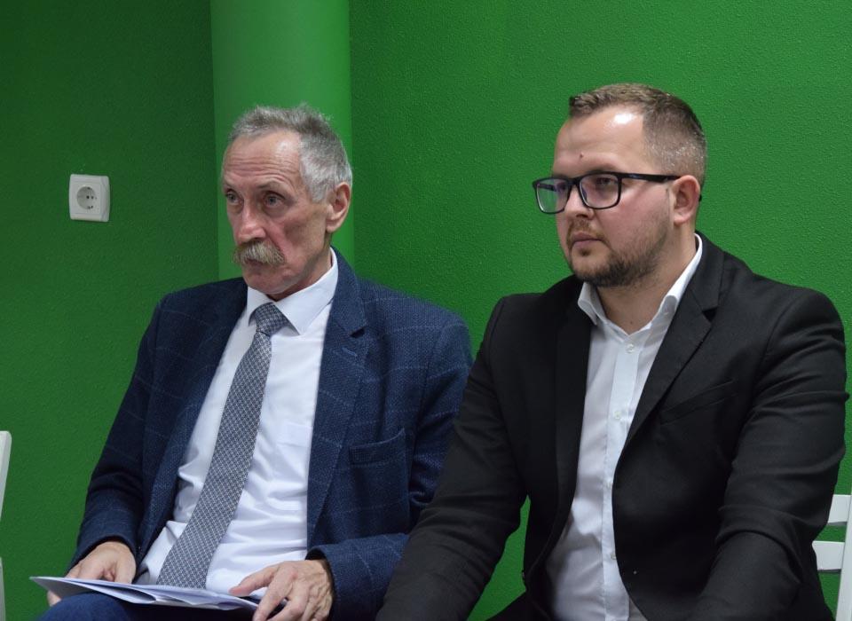 Ігор Процик і Андрій Боблях