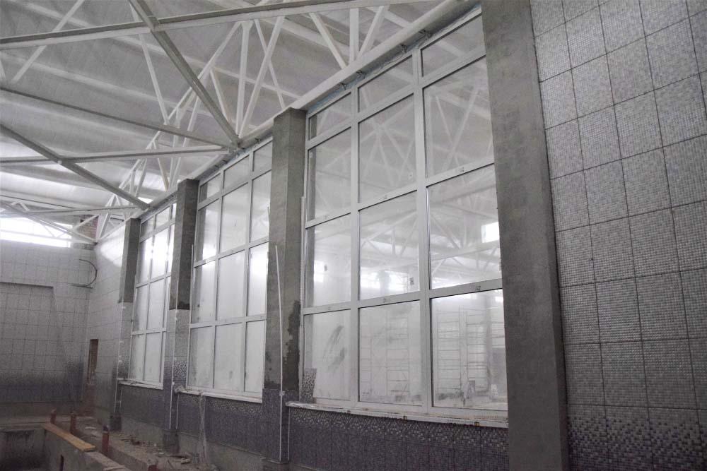 Будівництво спортивного комплексу планують завершити до кінця року