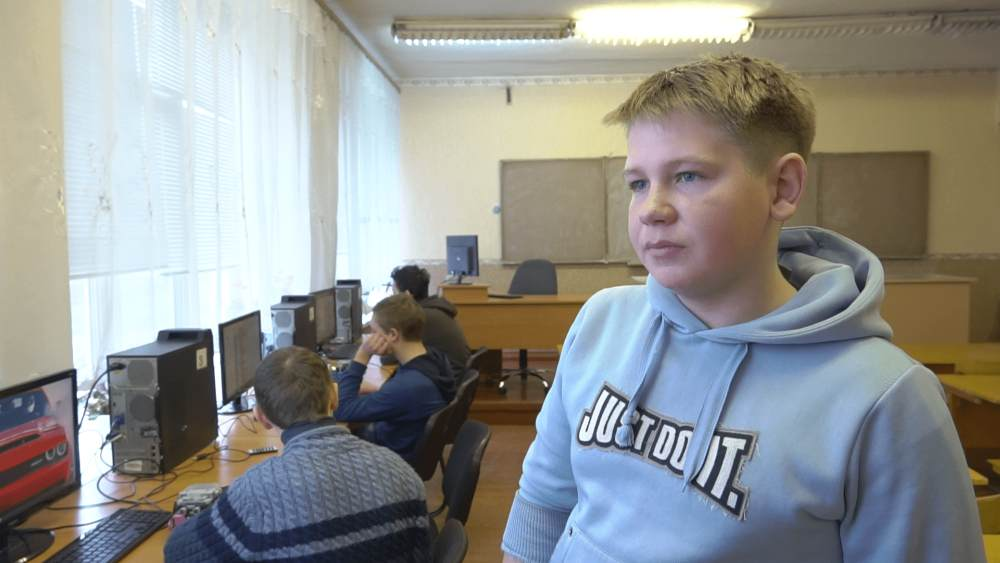 Дев'ятикласник Роман Шкреба