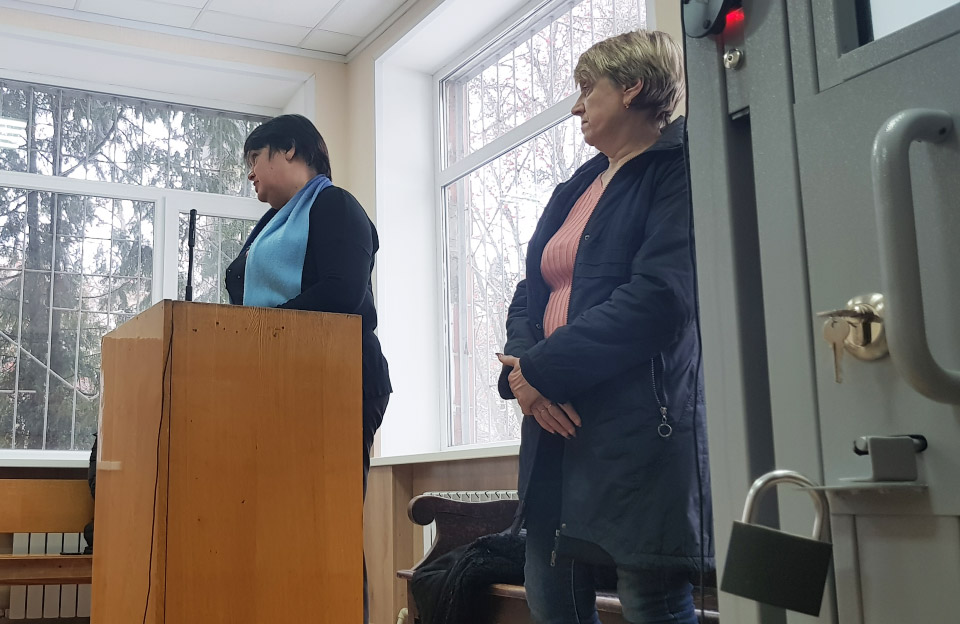 Працівники школи № 38 — Лариса Степаненко та Ольга Нестеренко