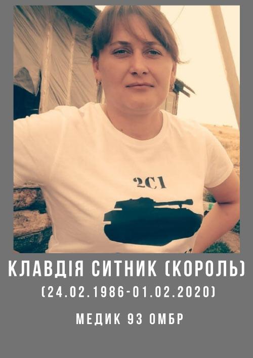Клавдія Ситник