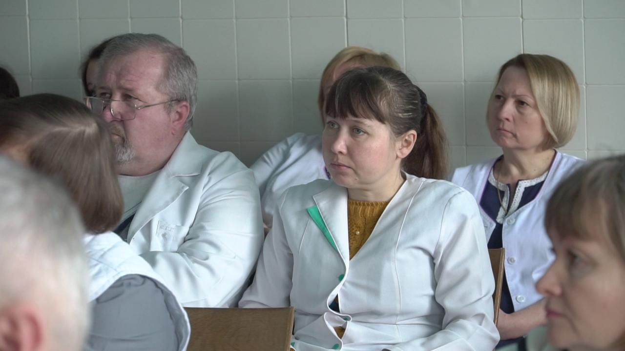 Медичний персонал Козельщинської ЦРЛ