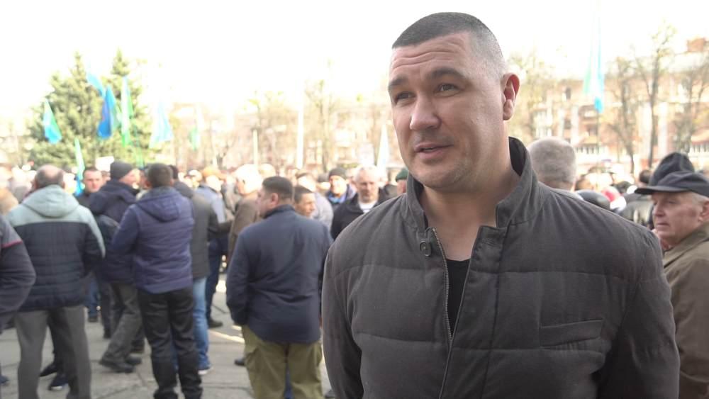Голова первинного мисливського осередку Щербанівської ОТГ Максим Брехнич