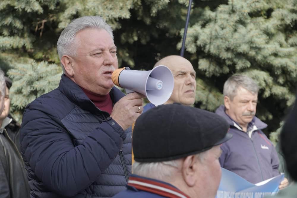 Голова ради Полтавської обласної організації УТМР Костянтин Боровик