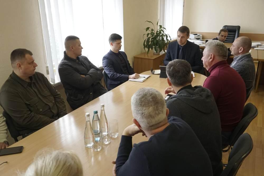 Мисливці поспілкувалися із заступником голови Полтавської ОДА Євгеном Грековим