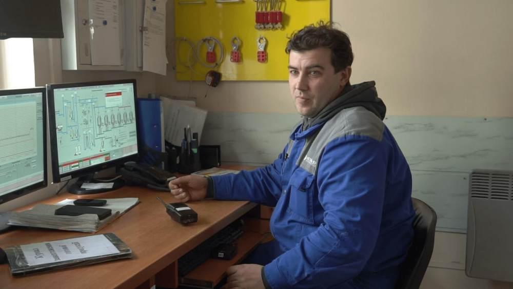 Оператор лінії у виробництві харчової продукції Микола П'ятаха