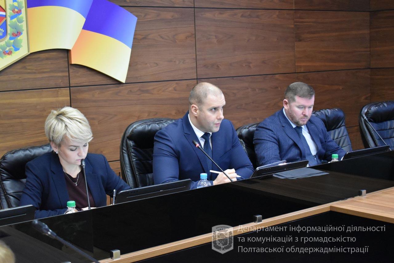 Катерина Рижеченко, Олег Синєгубов та Дмитро Лунін
