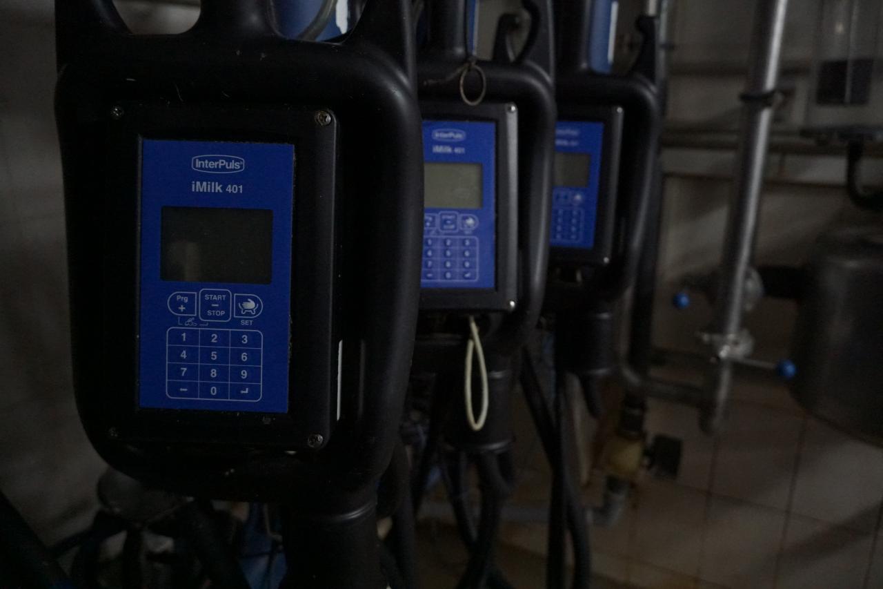 Цифрове доїльне обладнання