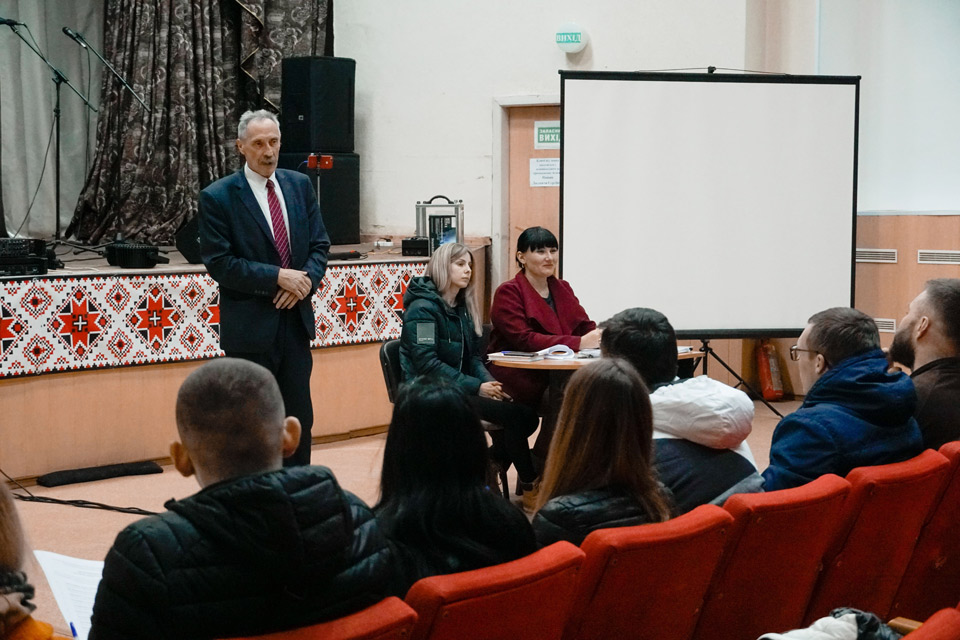 Ігор Процик розказує про перспективи співпраці молоді з сільською радою