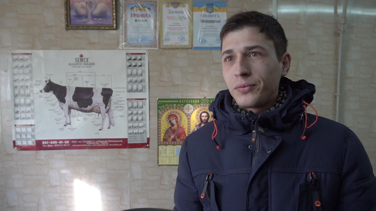 Віталій Яретик — начальник зміни ТОВ «Астарта-Прихоролля»