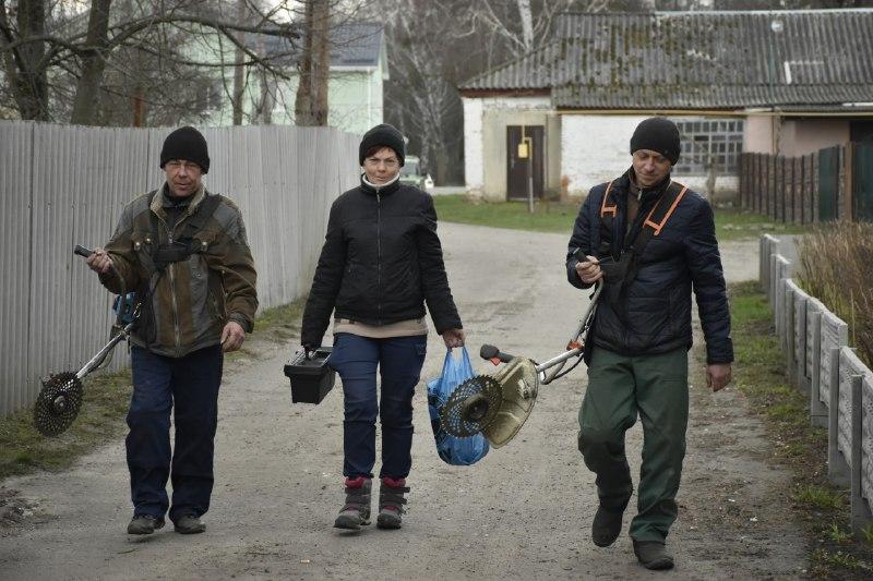 Комунальники Коломацької громади дбають про комфорт мешканців