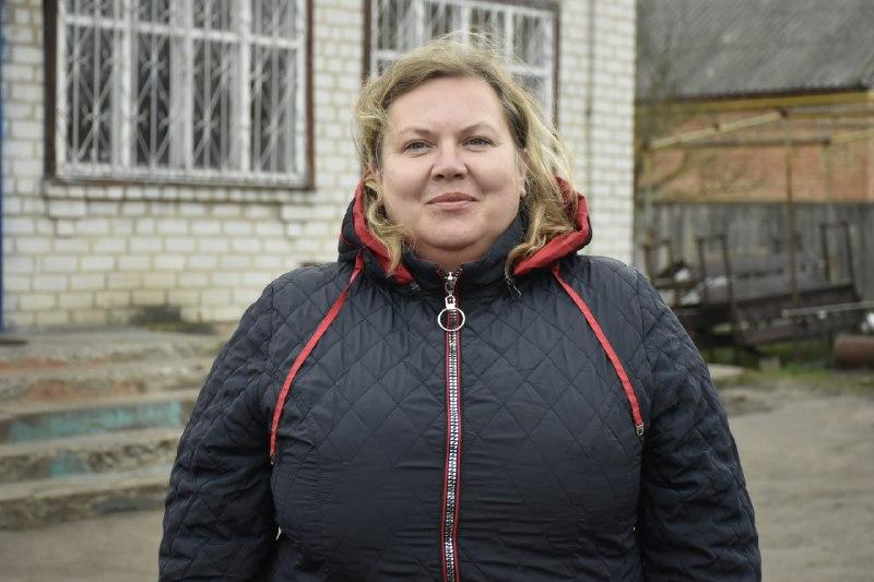 Контролерка з водопостачання Наталія Когут