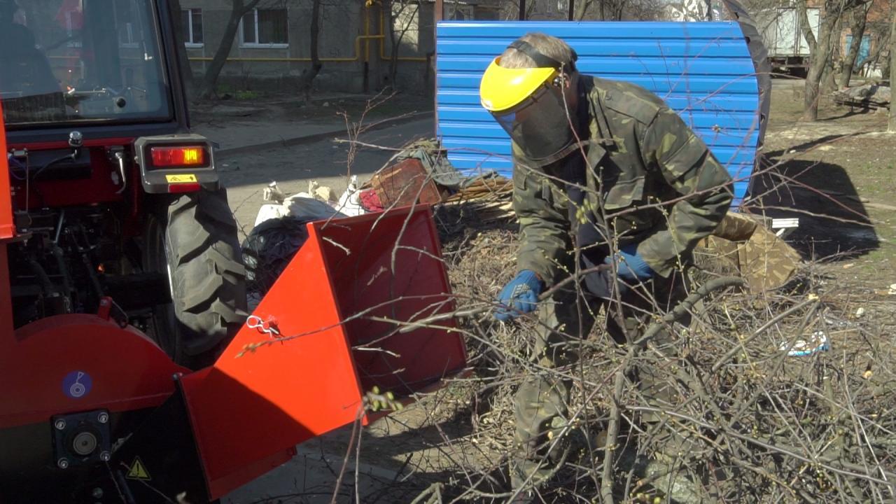 З допомогою Ігоря Процика придбали різку для деревини