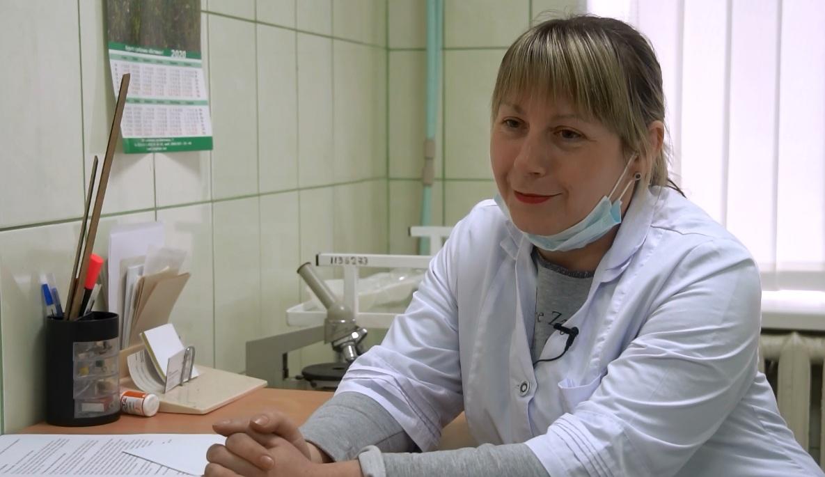 Медсестра Коломацької АЗПСМ Марина Репало