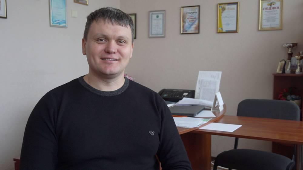 Директор Розсошенської гімназії Євген Яловець