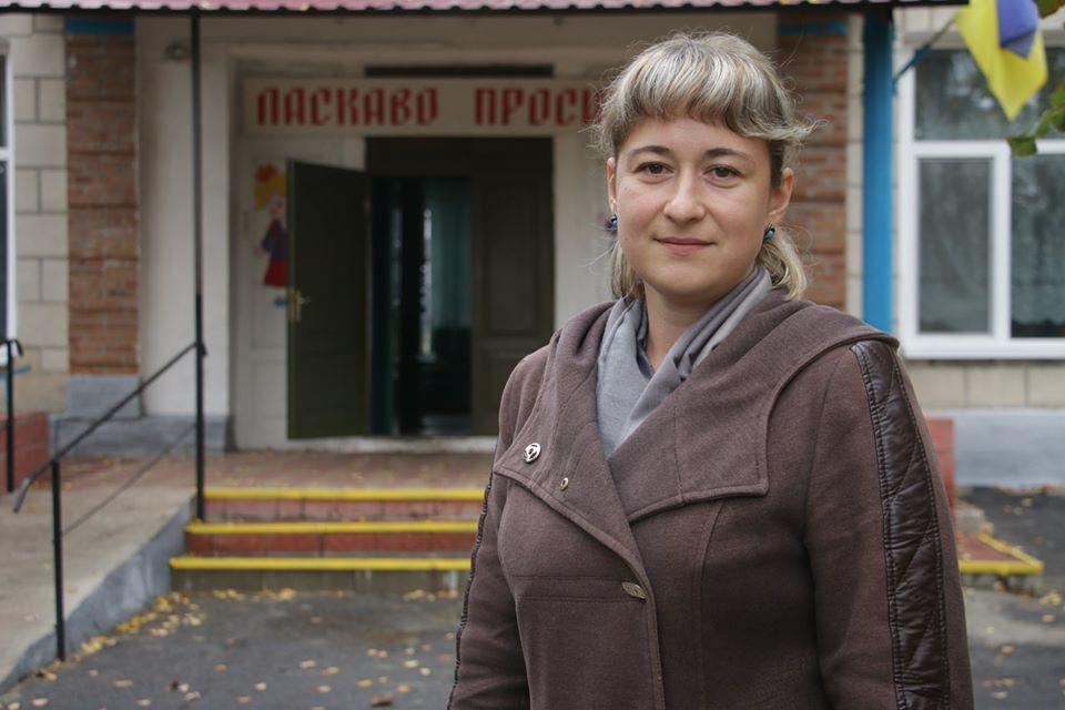 Директорка Сонячного НВК Марина Бриж