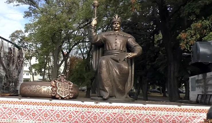 14 жовтня 2015 памятник Мазепі презентували полтавцям