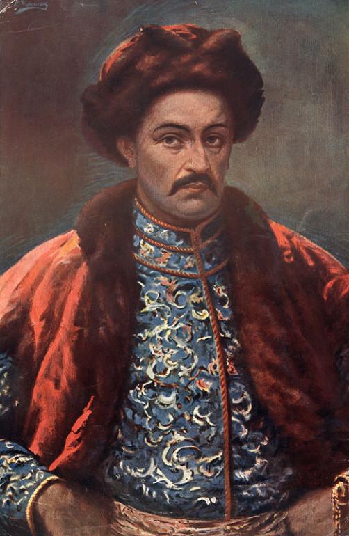 Портрет Івана Мазепи автортсва Осипа Куриласа 1909 рік