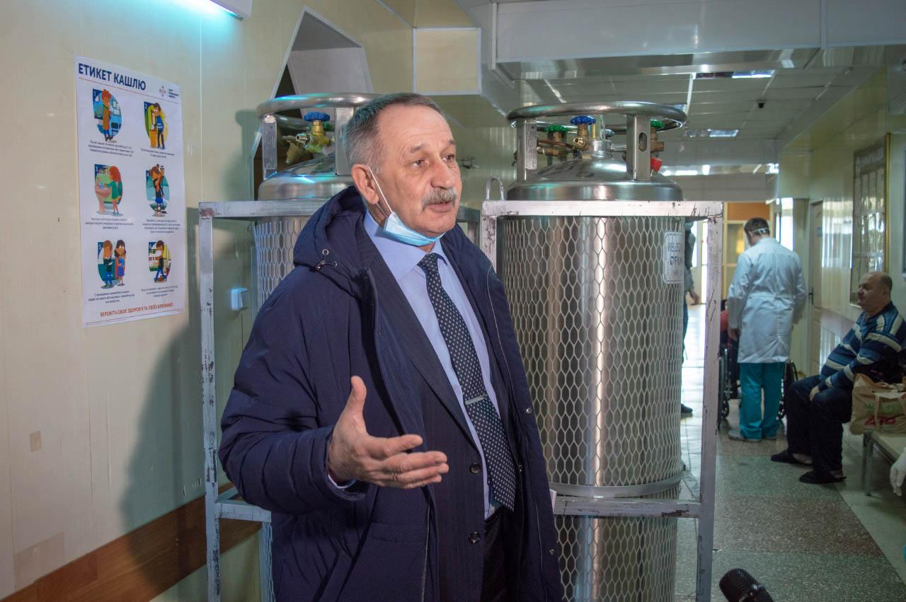 Олександр Кудацький знає проблеми медичноі сфери зсередини