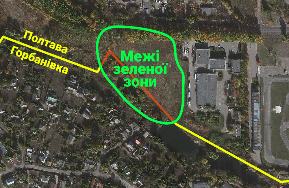 Місце розташування парку.