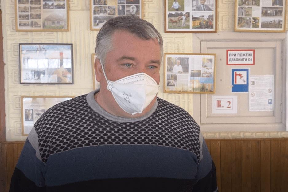 Начальник Штабу з НС В'ячеслав Макаренко