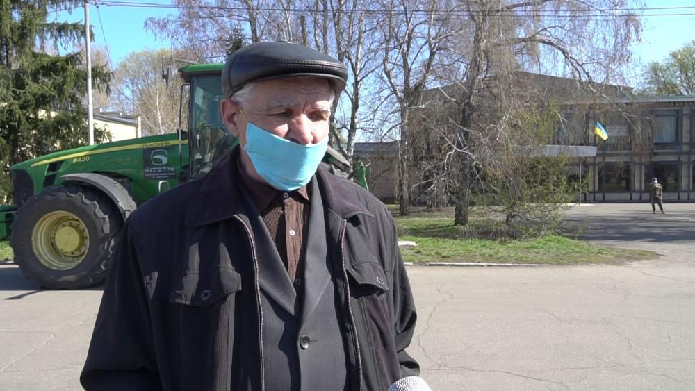 Інженер з матеріально-технічного забезпечення та голова профкому ДГ «Степне» Григорій Павленко