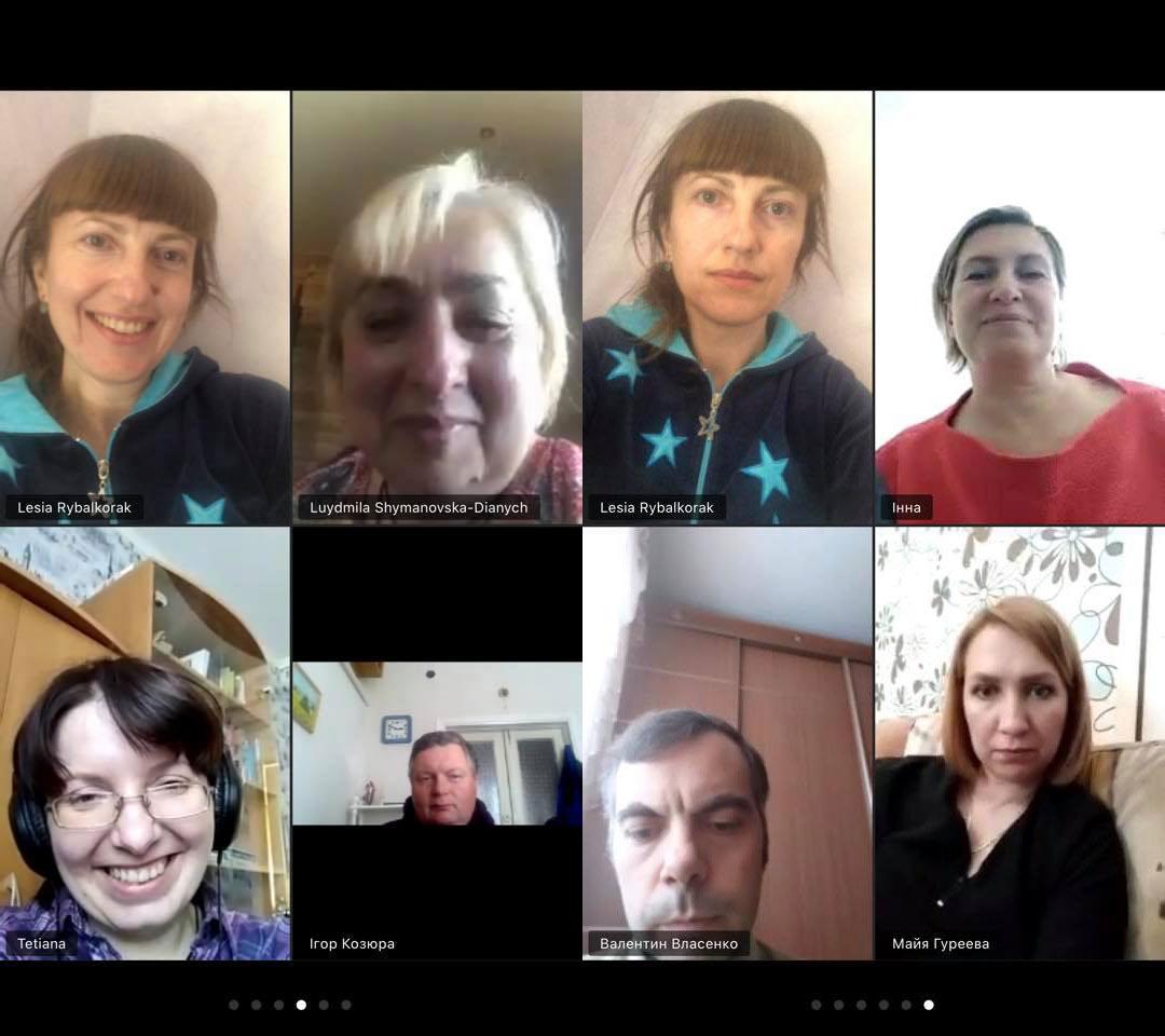 Засідання кафедри менеджменту online