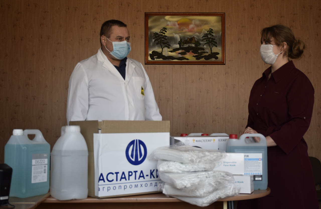 Головний лікар Зіньківської ЦРЛ Олександр Безпалий вдячний допомозі