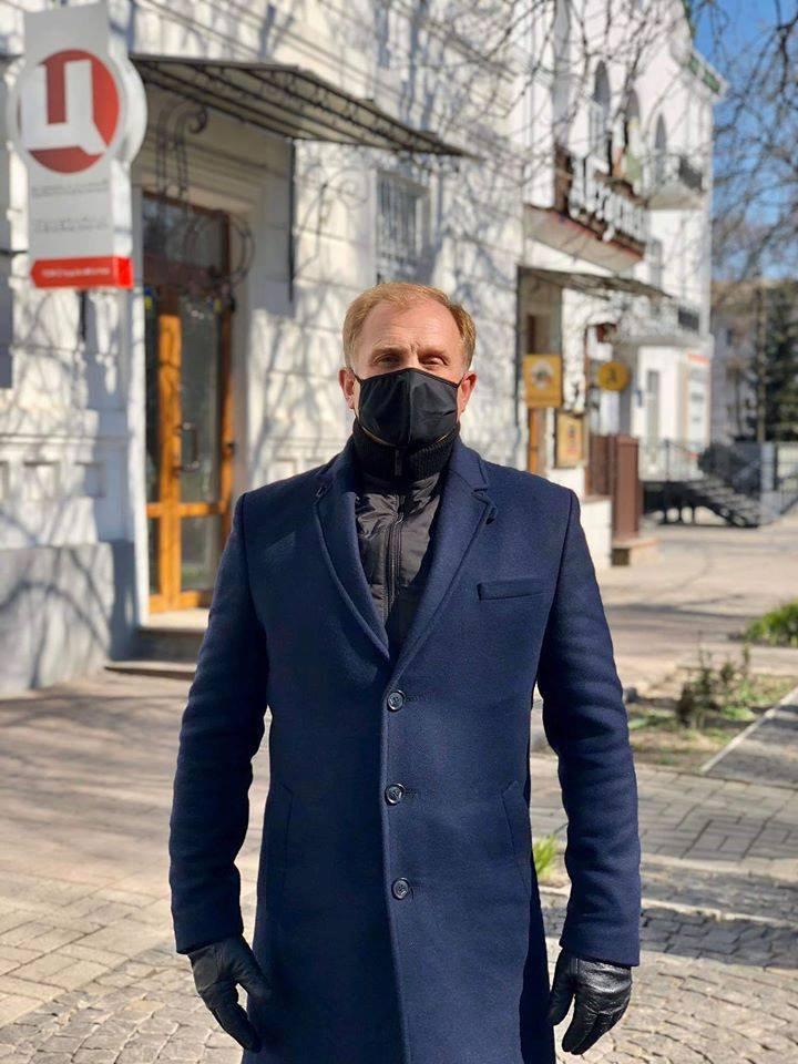 Олег Зонтов — генеральний директор телеканалу «Центральний»
