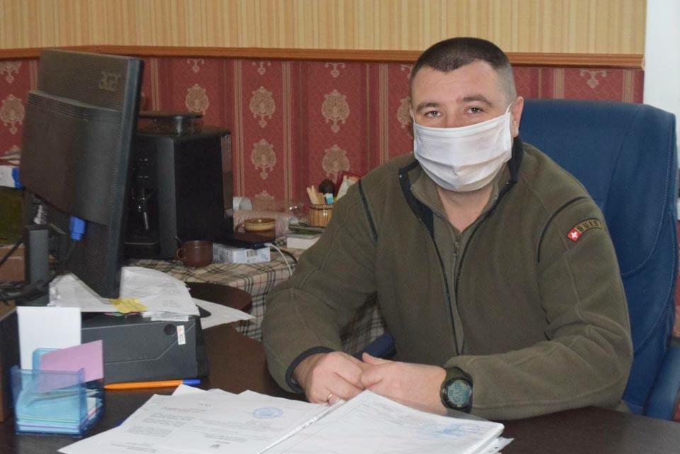 Голова Петрівцівської сільської ради Сергій Чех