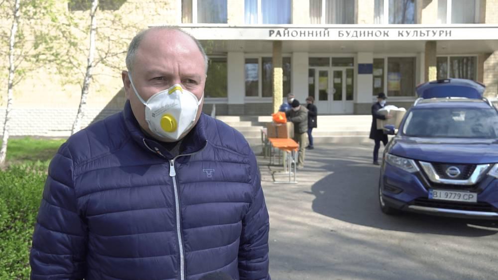 Голова Полтавської райдержадміністрації Ігор Карімов