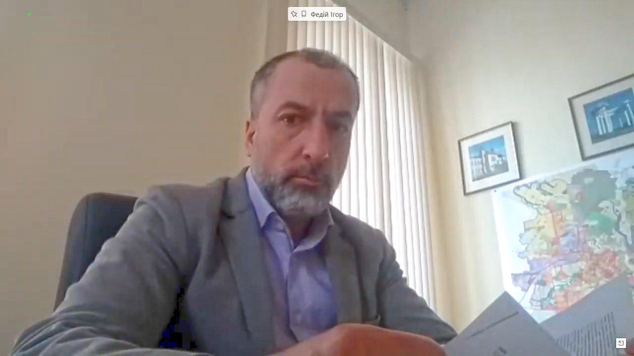 Заступник міського голови Ігор Федій