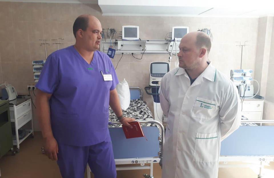 Нейрохірургія, збудована і оснащена за кошти залучені Капліним С.М. визнана найкращою в Україні